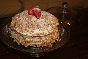 Burnt Almond Cake Thefloatingroof